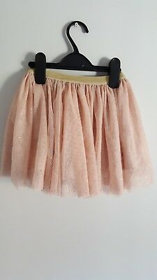 Next Girls Pink Tulle Skirt Age 18-24 Months