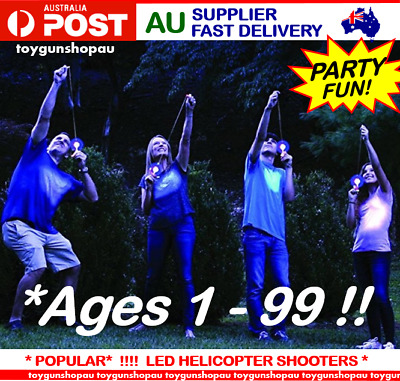AU Glow Stick Shooters LED Helicopter Shooters Party Games Kids Gun Party Pack