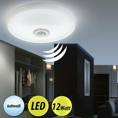 Led decken lampe mit bewegungsmelder sensor bad tageslicht for Lampe garage led