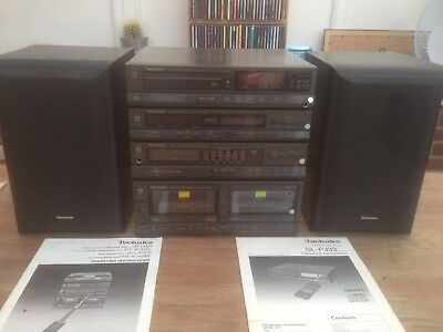 Technics SU-X33 Stacking Seperates System With SM-B20 Speakers original manuals