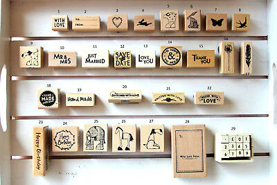 Rubber Stamps for Special Occasions - Gift Tags Card Making Craft