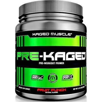 Kaged Muscle PRE-KAGED | 20 Serves | Pre-Workout | Value for money Pre workout
