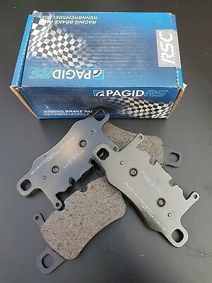 Pagid E4925 RSC1 Rear Brake Pads Porsche 991 GT3 2013-2015 CCB Ceramic Rotors