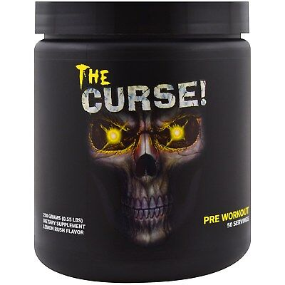 COBRA LABS THE CURSE PRE WORKOUT 50 SERVES | All Flavors |