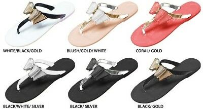 Wholesale Lot New 36  Pairs Ladies Jelly Sandal with Metallic Bow