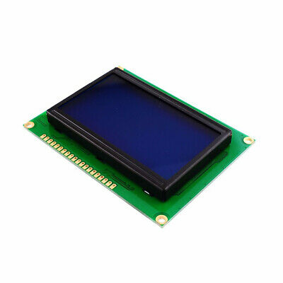 ST7920 128x64 12864 LCD Display Blue Backlight Parallel Serial for 5V BSG