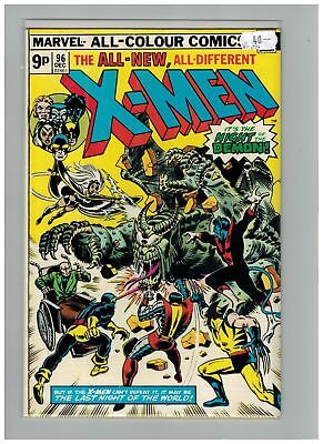 Uncanny X-Men (1963) #  96 (5.0-VG/FN) UK PRICE VARIANT (266482)