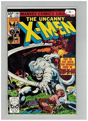 Uncanny X-Men (1963) # 140 (8.0-VF) UK PRICE VARIANT (266703)