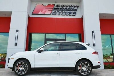 2017 Porsche Cayenne  2017 CAYENNE TURBO - $134K NEW - ONLY 2,000 MILES - 1 FLORIDA OWNER - LIKE NEW
