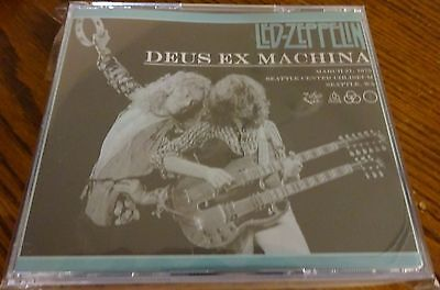 LED ZEPPELIN DEUS Ex Machina 4 CD Seattle 1975 > FREE PRIORITY MAIL  SHIPPING <