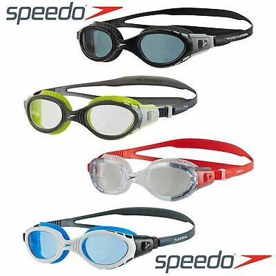 Speedo Futura Biofuse Senior Swimming Goggles - Choice Of 3 Colours Free Uk P&p!