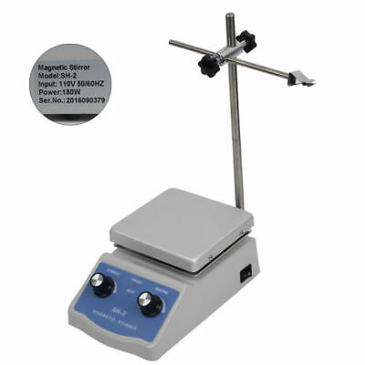 Electric Heating Mantle Machine w/ Magnetic Stirrer Mixer Hot Plate US Stock
