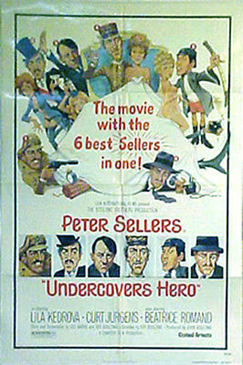 """""""UNDERCOVERS HERO"""" Soft Beds & Hard Battles with Peter Sellers - Movie poster"""