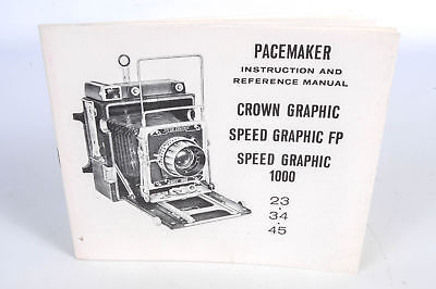 Pacemaker Graphic Cameras  Instruction Manual