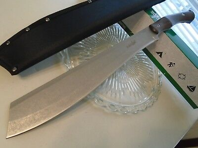 "Survivor Premium Cleaver Bowie Machete Knife Full Tang 3Cr13 SV-MHT003L 18"" OA"