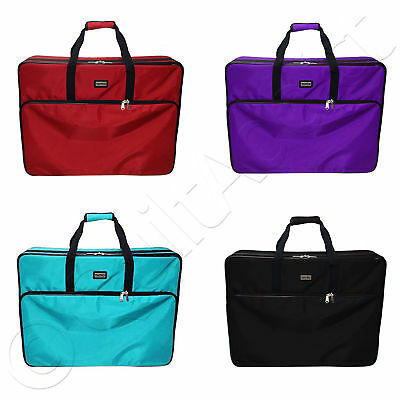 """Tutto 28"""" Embroidery Project Bag - Choose from 4 Colors - Case Tote Storage"""