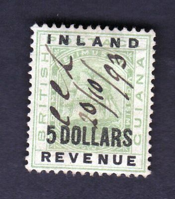 British Guiana Scott Numbers 128 147 & 189 Lot of 3 Revenue Cancel Stamps