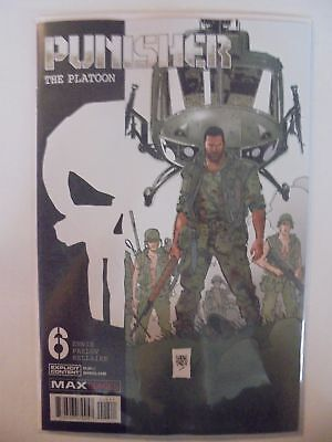 Punisher: The Platoon #6 Marvel NM Comics Book