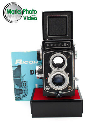 Ricohflex Dia L TLR Camera with Rikenon 8cm f/3.5 Lens #8825