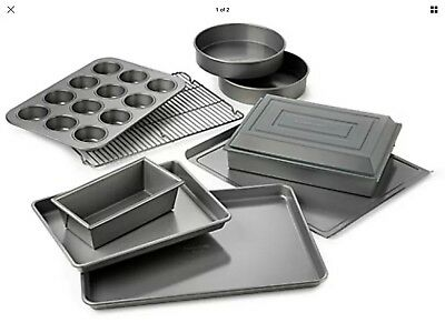 Calphalon Nonstick 10 Piece Bakeware Set Pan Classic Baking Cooking Kitchen Tool
