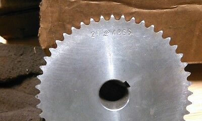25-48Ss-3/4 Stainless Steel Sprocket