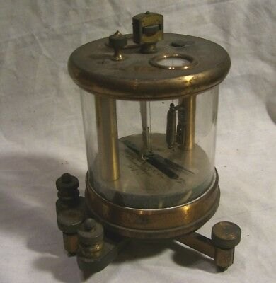 Pennsylvania Railroad Altoona Shops Galvanometer Circa 1885 - Untouched Original