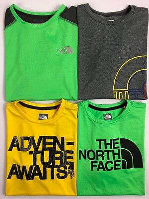 Boy's Youth The North Face FlashDry Polyester T-Shirt