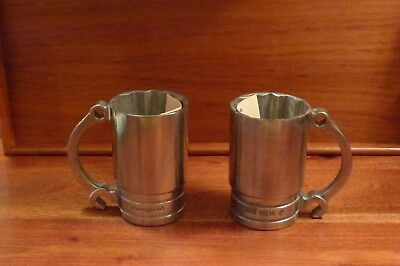 Snap-on Beer Flankards – 2 Each – Brand new, never used WITH BONUS