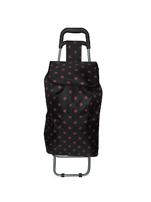 Shopping bag on wheels ,Foldable light weight and large.