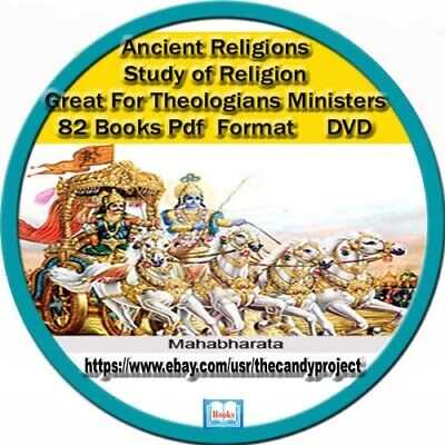 167 Books Pdf Ancient Religions Vintage Rare DVD Theologians Study of Religions