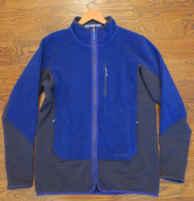 Patagonia Hybrid Fleece Jacket NEW WITH TAGS Cobalt Blue Classic Navy NWT large