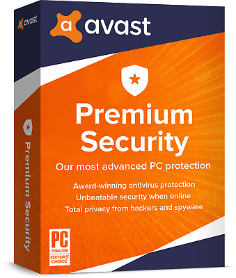 AVAST Premier 3 PC 1 Jahr 2019 Vollversion/Upgrade Antivirus DE-Lizenz avast!