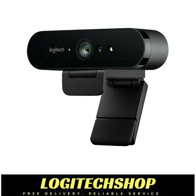 Logitech BRIO 4k Ultra HD USB-C Webcam with Rightlight 3 HDR (Free Postage)