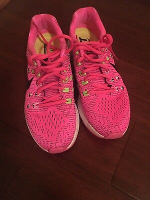new arrival 4428c 37f16 Wmns Nike Air Zoom Structure 19 Pink and Black size 8. USED TWICE!