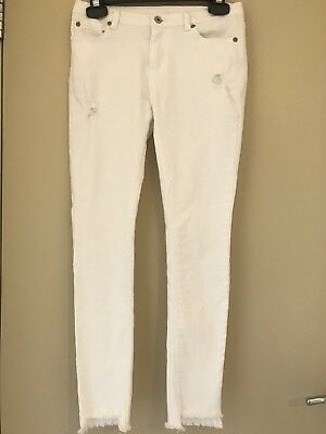 Seed Teen White Jeans