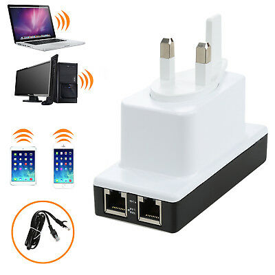 1PCS Wireless-N Router Wifi Repeater 300Mbps signal range of power amplifier BD1