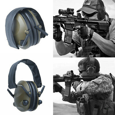 Foldable Shooting Hunting Tactical Electronic Earmuffs Ear Muffs Soundproof Xmas
