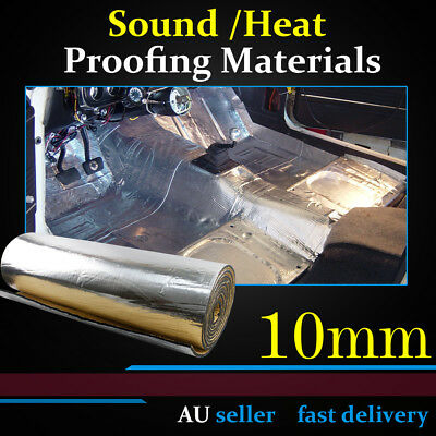 10mm Thickness Heat Insulation Sound Proofing Material Car Bonnet Engine Doors