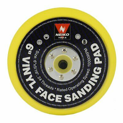 Vinyl Face Sanding & Polishing Pad, 6"