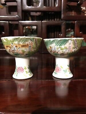 chinese antique porcelain cup Qing Ming China Asian