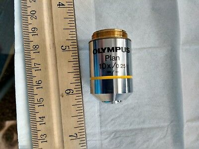 Olympus Plan 10x/0.25  ∞/-, Objective Lens Microscope