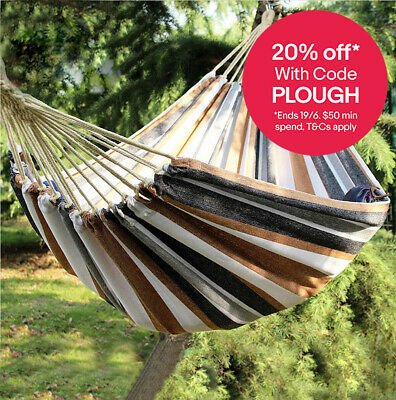 350KG Double Hammock Air Chair Hanging Swinging Bed Outdoor Camping 280x150cm