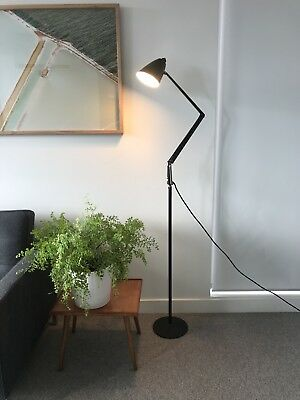 Black Planet Floor Lamp Vintage Retro