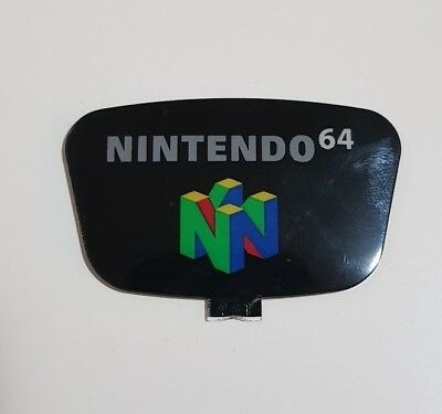 Nintendo 64 N64 Label, Power Buttons and LED cover Replacement Repair Part
