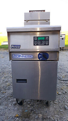Pitco Solstice Supreme Natural Gas Water Bath Boiler Pasta/Seafood Cooker SSPG14