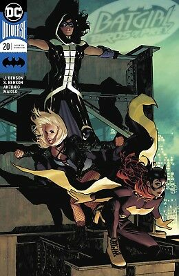 Batgirl And The Birds Of Prey #20 Variant Dc 3/14