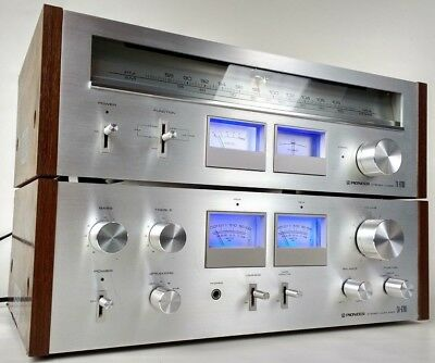 Vintage Pioneer SA-6700 Amplifier And TX-6700 Tuner Set LED Upgrade