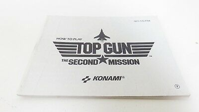 Top Gun the Second Mission - NES manual only