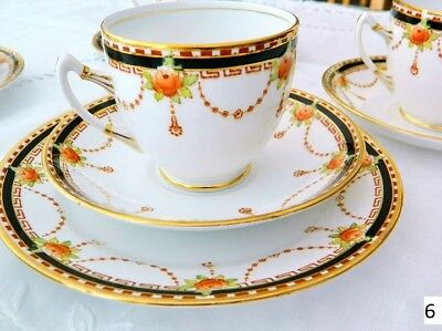 Antique English Un-Named Royal Albert  trio Tea Cup , Saucer and tea plate