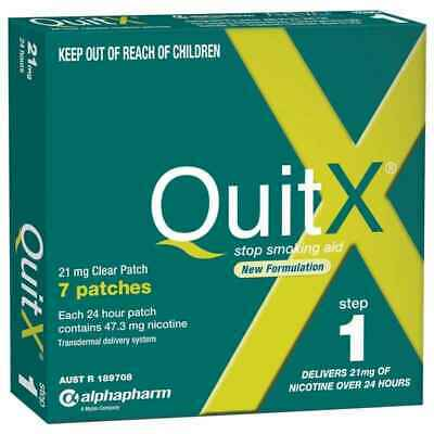QuitX Step 1 Patch 21mg over 24 hours 7 pack